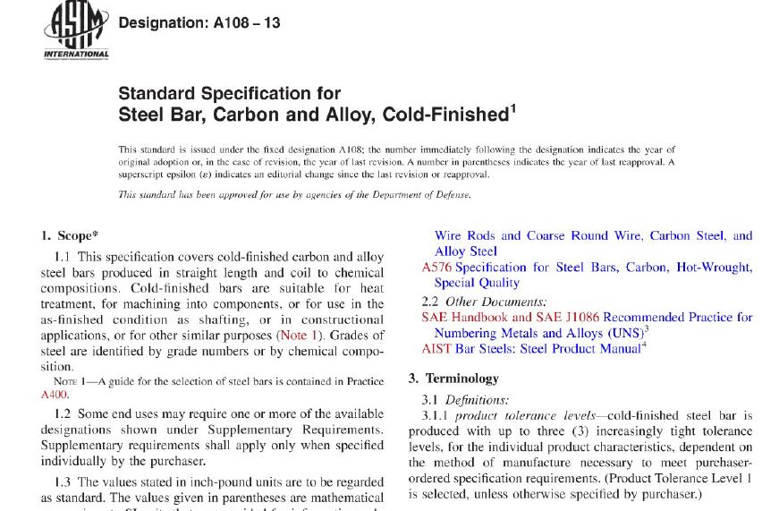 ASTM A108-13 pdf